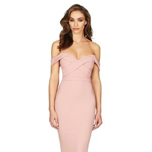 Nookie Camille Dress in Blush! New with labels